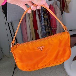 AUTHENTIC Vintage Prada Nylon - Orange